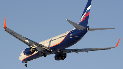VP-BMD - Boeing 737-8MC - Aeroflot