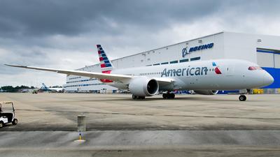 N880BJ - Boeing 787-8 Dreamliner - American Airlines