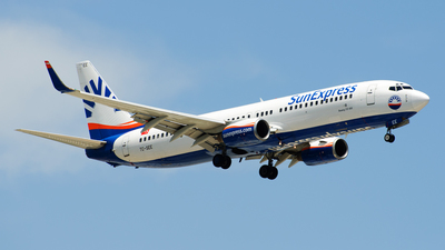 TC-SEE - Boeing 737-8CX - SunExpress