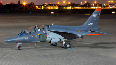 AT-01 - Dassault-Breguet-Dornier Alpha Jet 1B+ - Belgium - Air Force