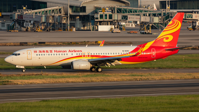 A picture of B6061 - Boeing 73789P - Hainan Airlines - © Jack  Li
