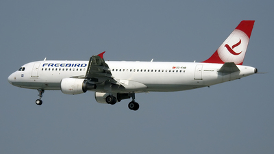 TC-FHB - Airbus A320-214 - Freebird Airlines