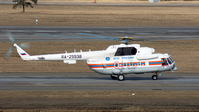 RA-25538 - Mil Mi-8MT Hip - Russia - Ministry for Emergency Situations (MChS)