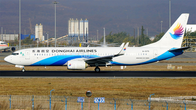 A picture of B1575 - Boeing 73783Z - Donghai Airlines - © AppleFan