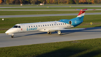LX-LGX - Embraer ERJ-145LU - Luxair - Luxembourg Airlines