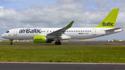 YL-AAS - Airbus A220-300 - Air Baltic