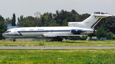 3503 - Boeing 727-14 - Mexico - Air Force