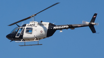 N664PD - Bell 206B JetRanger III - United States - Los Angeles Police Department (LAPD)