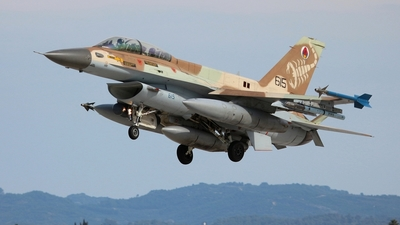 615 - Lockheed Martin F-16D Barak - Israel - Air Force