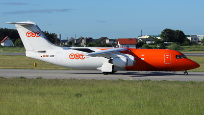 EC-LOF - British Aerospace BAe 146-300(QT) - TNT Airways (Pan Air Líneas Aéreas)