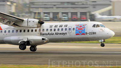 B-22811 - ATR 72-212A(500) - TransAsia Airways