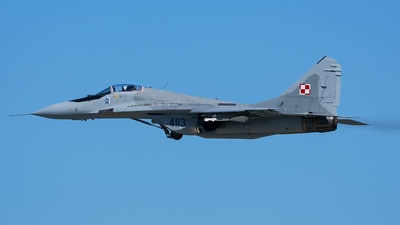 4113 - Mikoyan-Gurevich MiG-29 Fulcrum - Poland - Air Force