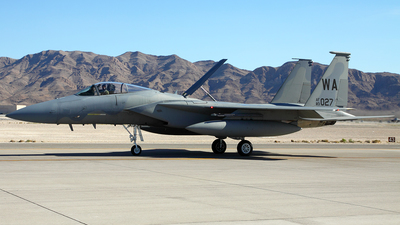 83-0027 - McDonnell Douglas F-15C Eagle - United States - US Air Force (USAF)
