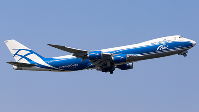 VQ-BLR - Boeing 747-8HVF - Air Bridge Cargo