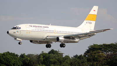 A-7304 - Boeing 737-2Q8(Adv) - Indonesia - Air Force