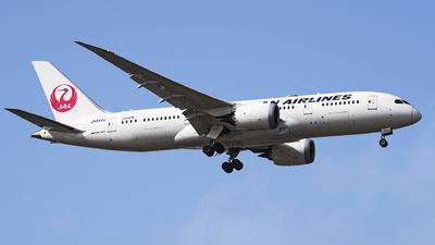 JA844J - Boeing 787-8 Dreamliner - Japan Airlines (JAL)
