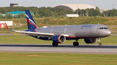 VP-BPP - Airbus A321-251NX - Aeroflot