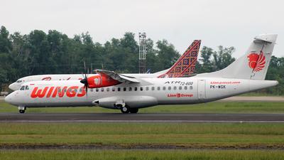PK-WGK - ATR 72-212A(600) - Wings Air