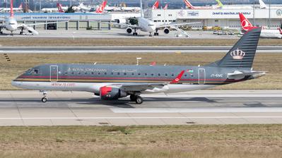 JY-EMC - Embraer 170-200LR - Royal Jordanian