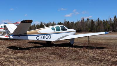 C-GICQ - Beechcraft G35 Bonanza - Private