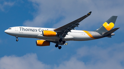 G-OMYT - Airbus A330-243 - Thomas Cook Airlines