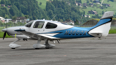 N3600X - Cirrus SR22T - Private