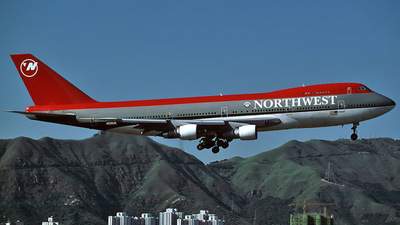 N636US - Boeing 747-251B - Northwest Airlines
