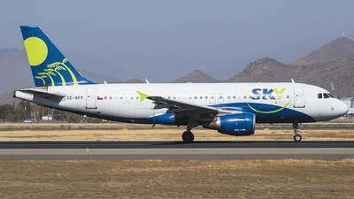 CC-AFY - Airbus A319-111 - Sky Airline
