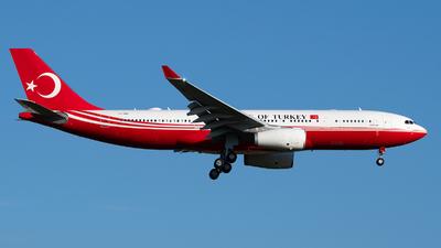 TC-TUR - Airbus A330-243 - Turkey - Government