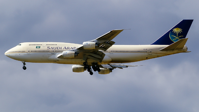 HZ-AIP - Boeing 747-368 - Saudi Arabian Airlines