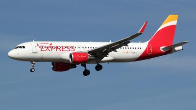 EC-LVQ - Airbus A320-216 - Iberia Express