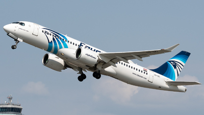 A picture of SUGFI - Airbus A220300 - EgyptAir - © Thomas Ernst
