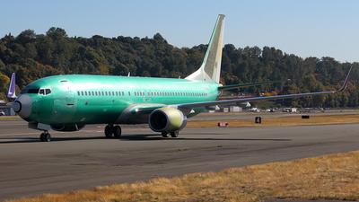 N1786B - Boeing 737-86W - Boeing Company