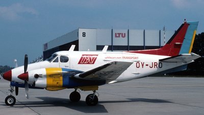 OY-JRO - Beechcraft B90 King Air - Danish Air Transport (DAT)