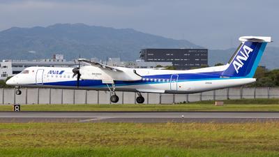A picture of JA855A - De Havilland Canada Dash 8400 - All Nippon Airways - © LUSU