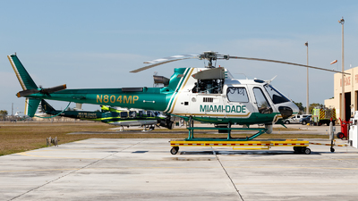 N804MP - Eurocopter AS 350B3 Ecureuil - United States - Miami Dade Police Department
