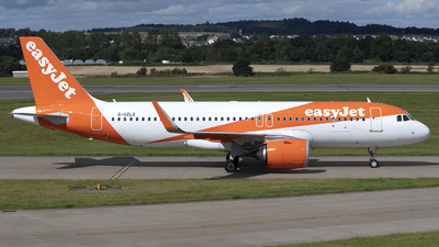 A picture of GUZLG - Airbus A320251N - easyJet - © Ian McGregor