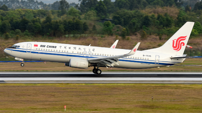 B-7595 - Boeing 737-89L - Air China