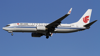 A picture of B5583 - Boeing 73789L - Air China - © wangpaul