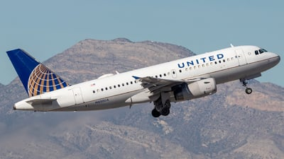 A picture of N850UA - Airbus A319131 - United Airlines - © 702Aviationn