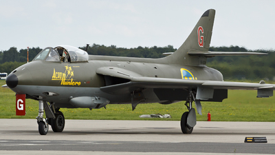 SE-DXM - Hawker Hunter F.58 - Swedish Airforce Historic Flight