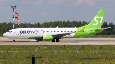 A picture of VQBKW - Boeing 7378ZS - S7 Airlines - © Vitaly Revyakin