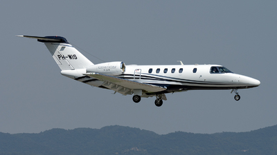 PH-WIS - Cessna 525 Citationjet CJ4 - Private