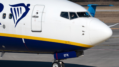 EI-EFK - Boeing 737-8AS - Ryanair