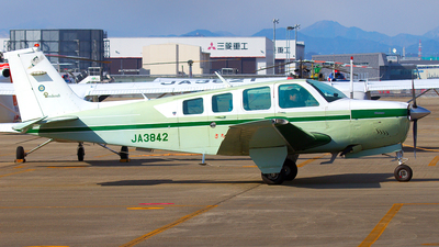 JA3842 - Beechcraft 36 Bonanza - Private