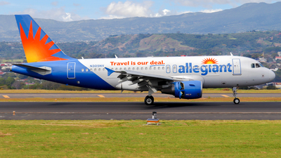 N305NV - Airbus A319-112 - Allegiant Air