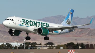 A picture of N350FR - Airbus A320251N - Frontier Airlines - © Dieter Matischok