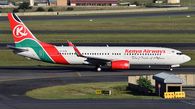 5Y-KYD - Boeing 737-86N - Kenya Airways