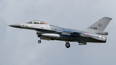 J-016 - General Dynamics F-16AM Fighting Falcon - Netherlands - Royal Air Force