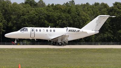 N582JR - Cessna 525B CitationJet 3+ - Private